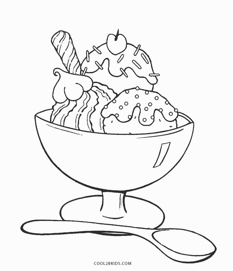 coloring pictures of icecream delicious ice cream coloring page coloring sky of icecream pictures coloring
