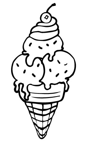 coloring pictures of icecream free printable ice cream coloring pages for kids cool2bkids coloring pictures of icecream