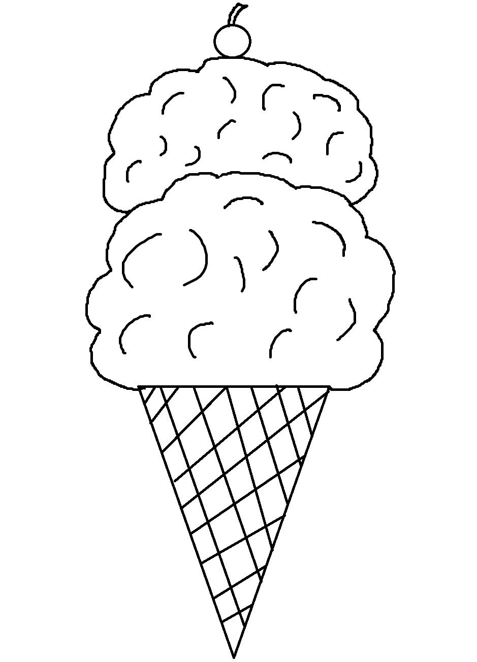 coloring pictures of icecream ice cream truck coloring pages clipart panda free coloring pictures icecream of