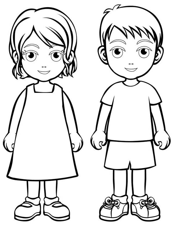 Coloring pictures of people