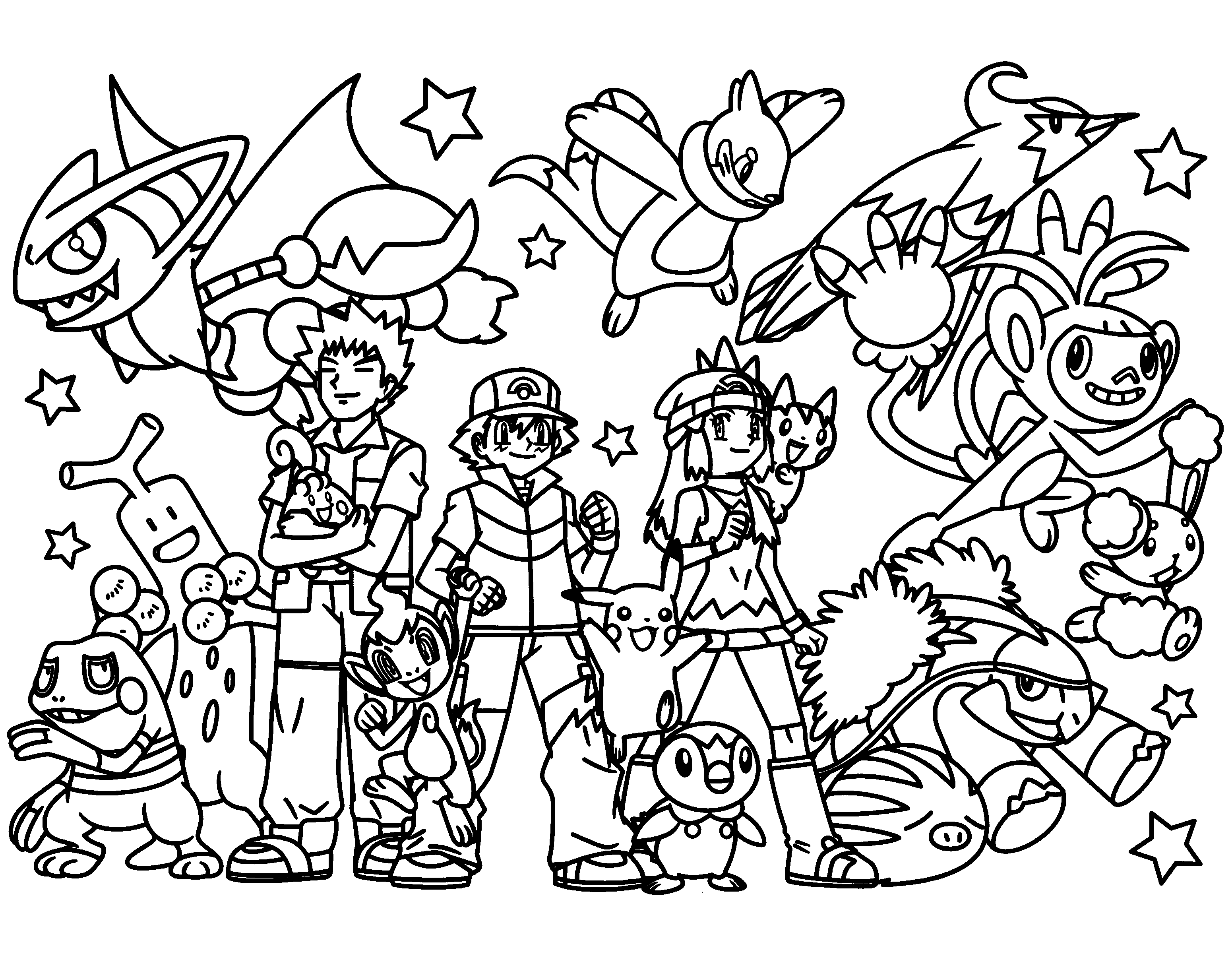 coloring pictures of pokemon pokemon coloring pages free and printable of coloring pokemon pictures