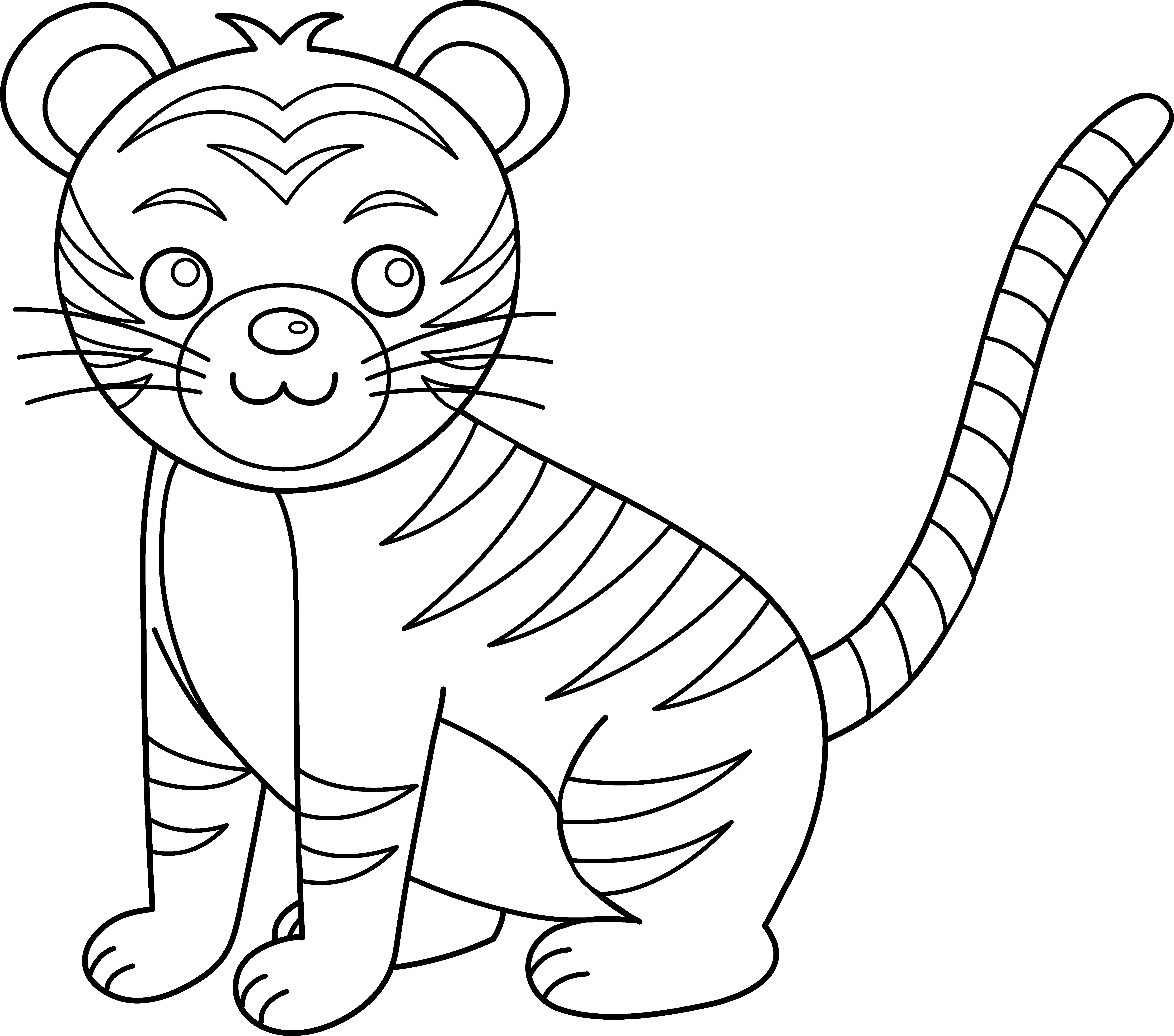 coloring pictures of tigers free printable tiger coloring pages for kids animal place pictures coloring of tigers