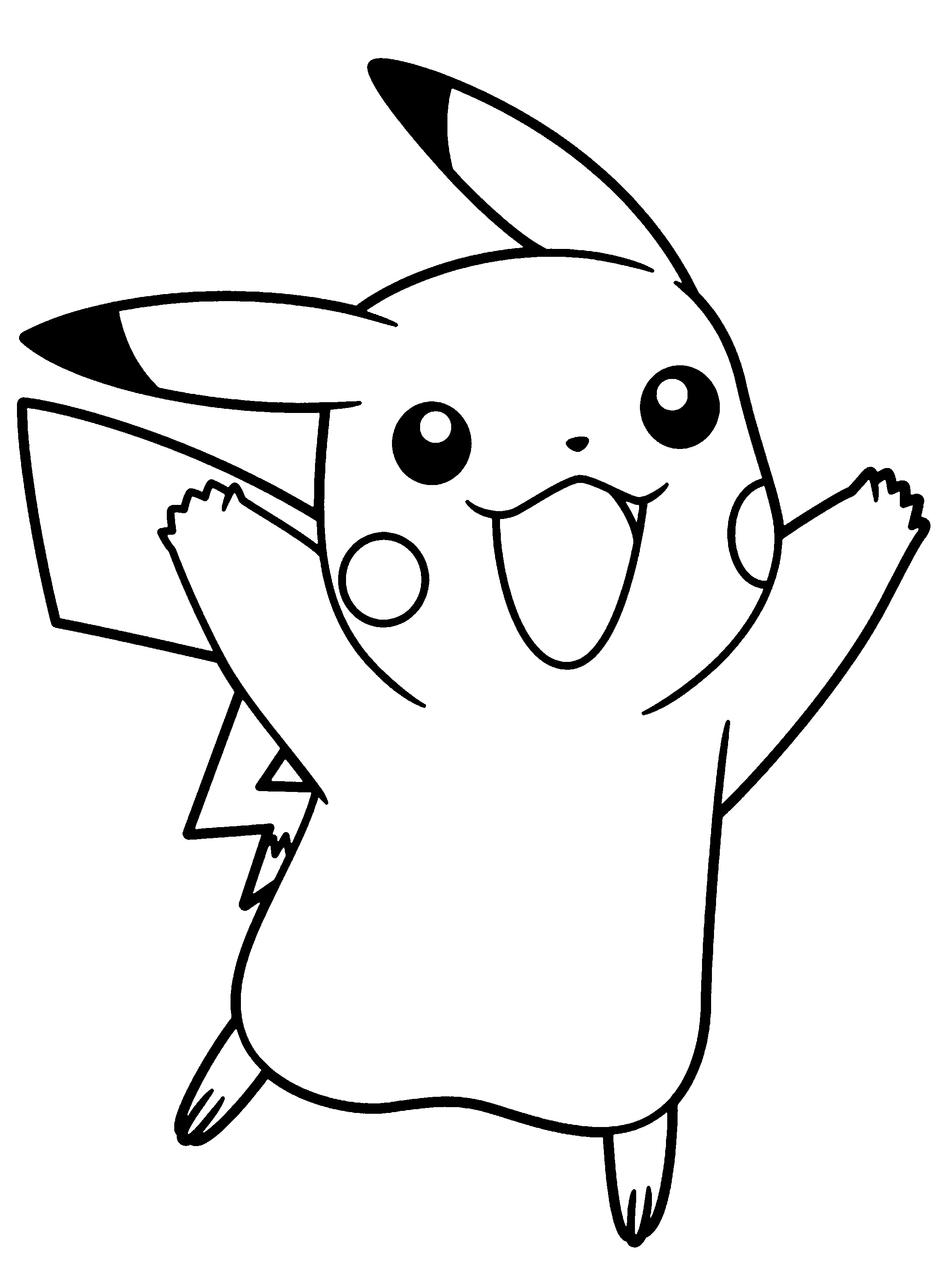 coloring pictures pikachu 30 best pikachu coloring pages visual arts ideas pikachu coloring pictures