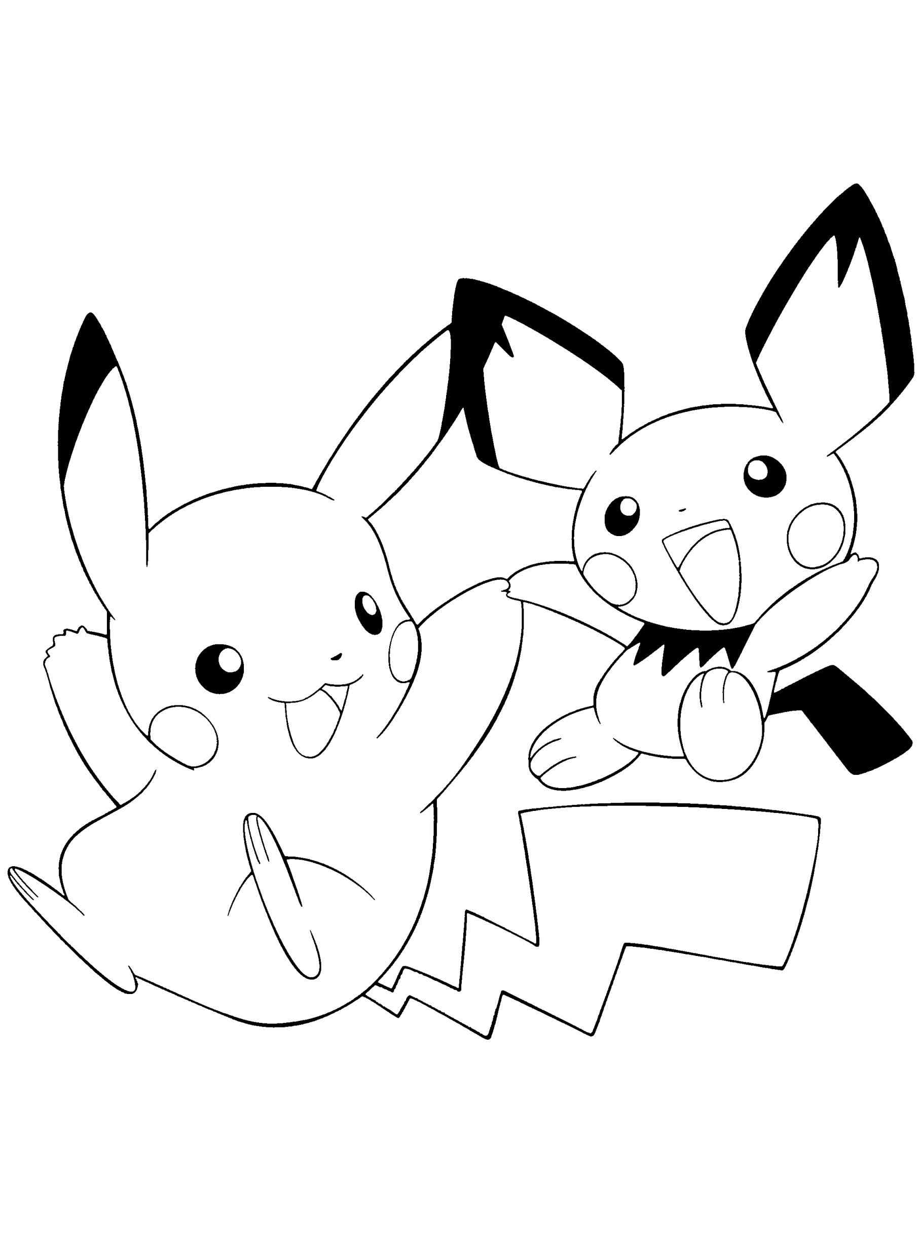 coloring pictures pikachu pikachu coloring pages print color craft pictures pikachu coloring