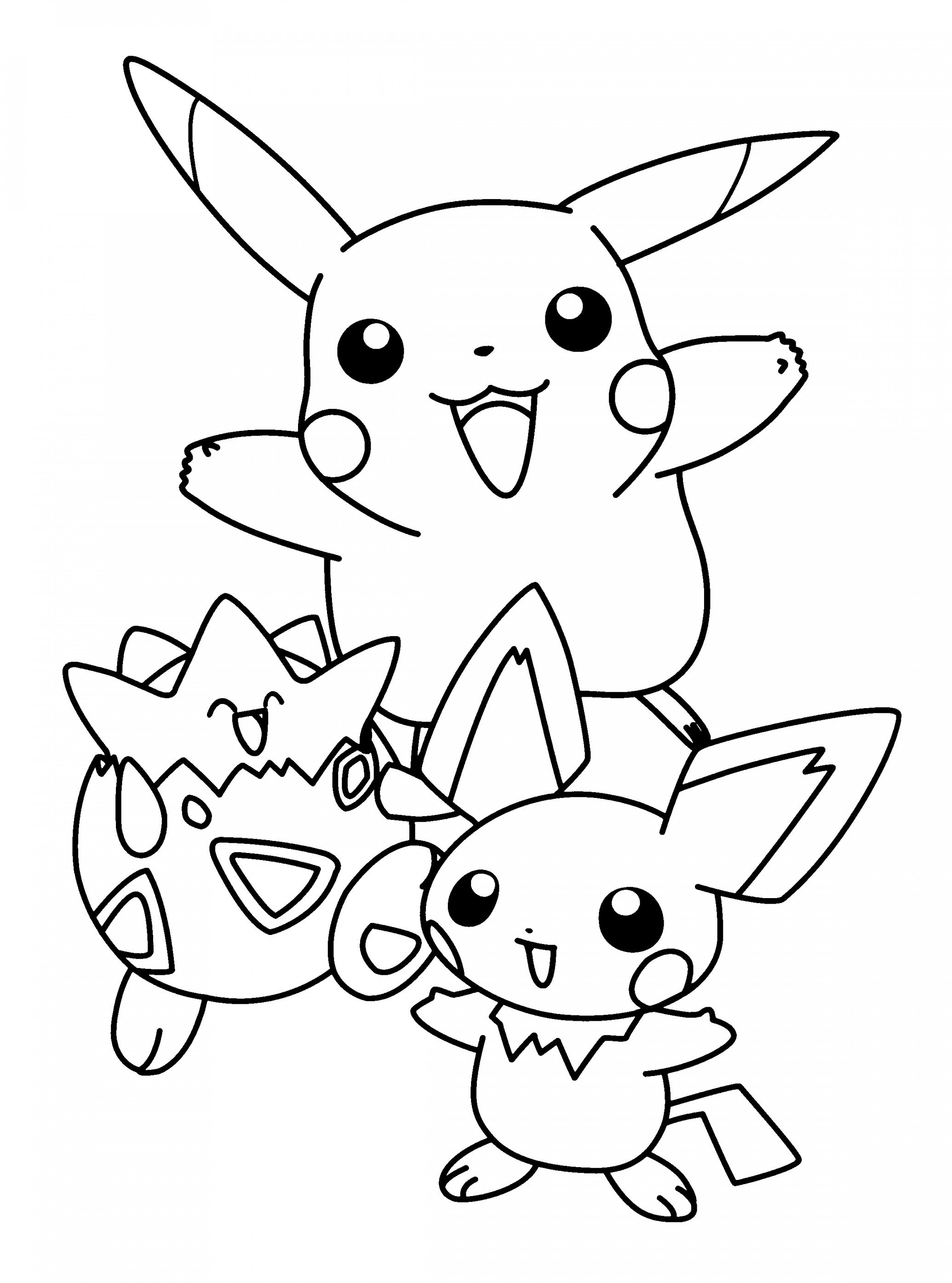 coloring pictures pikachu printable pikachu coloring pages for kids cool2bkids pikachu coloring pictures