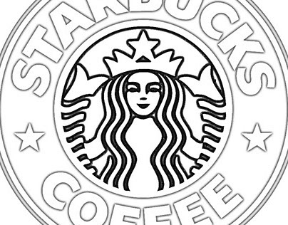 coloring pictures starbucks starbucks logo coloring page sketch coloring page starbucks coloring pictures 1 1