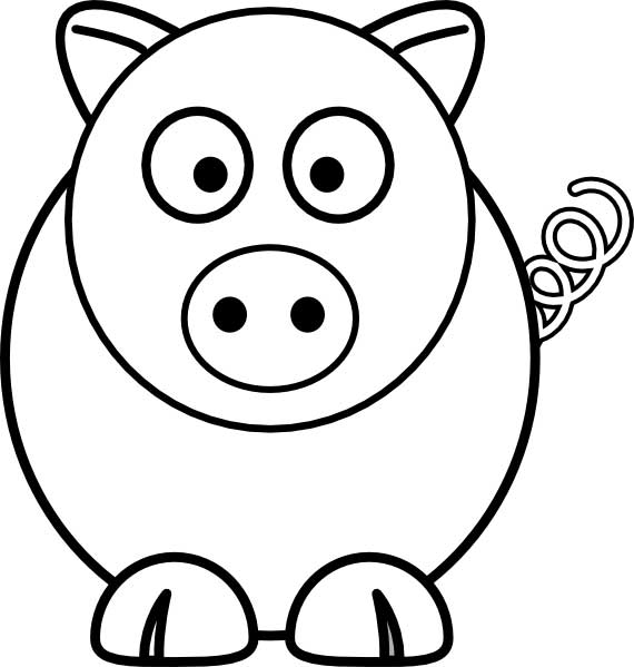 coloring pig for kids cute baby pig animal coloring pages print best coloring kids for pig coloring