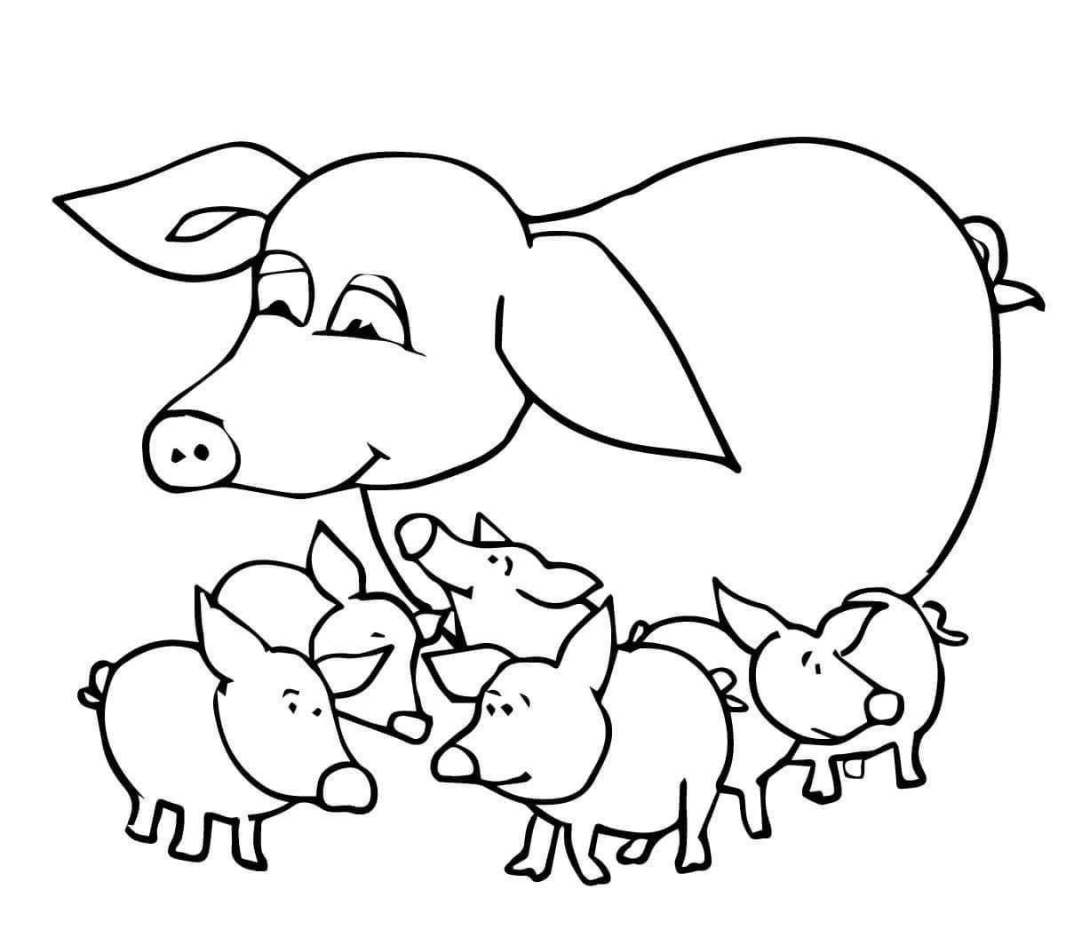 coloring pig for kids pig coloring pages 2019 farm coloring pages coloring coloring pig kids for