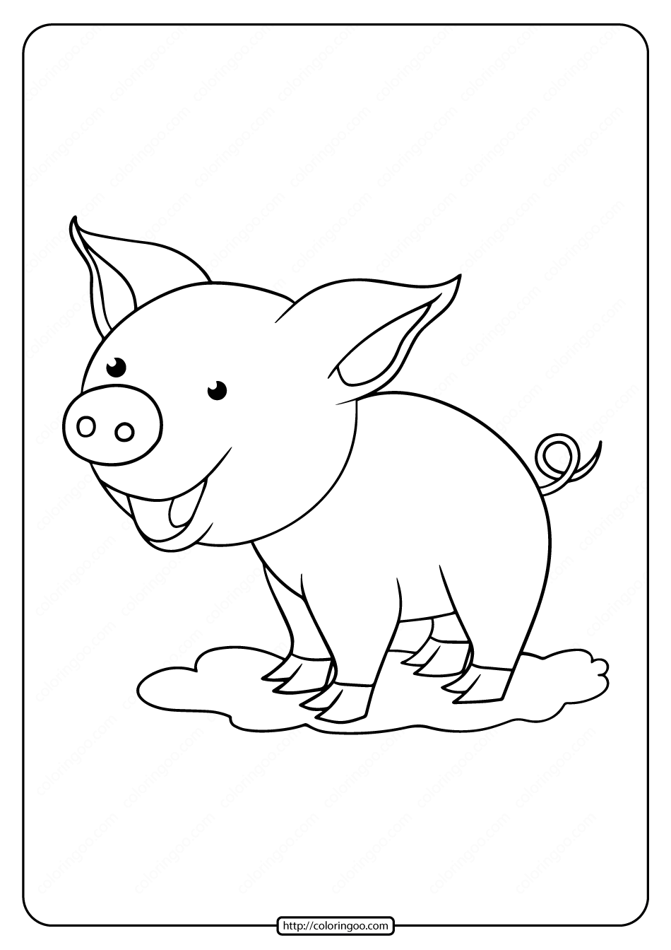 coloring pig for kids three little pigs coloring pages the three little pigs story pig for coloring kids