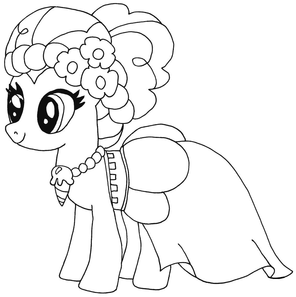 coloring pinkie pie lovely pinkie pie coloring page free printable coloring pinkie pie coloring