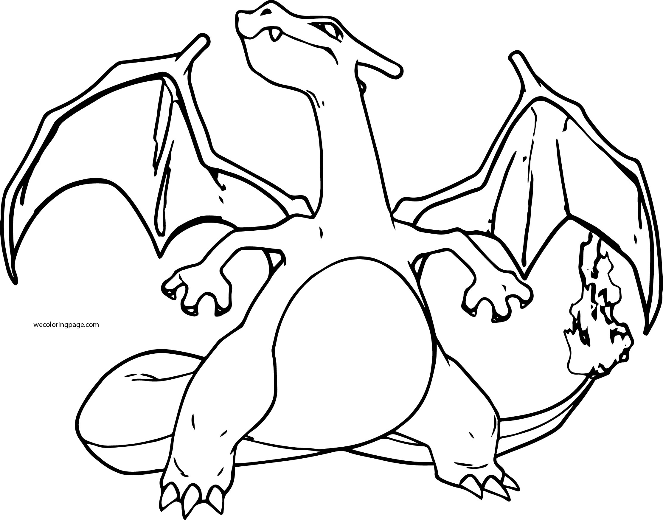coloring pokemon charizard charizard coloring pages to download and print for free pokemon coloring charizard 1 1