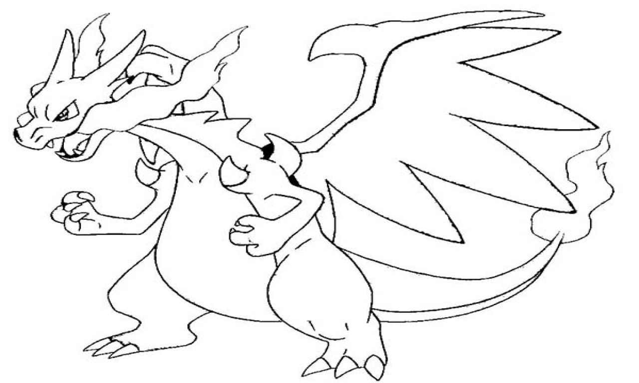 coloring pokemon charizard the best free charizard drawing images download from 347 pokemon charizard coloring