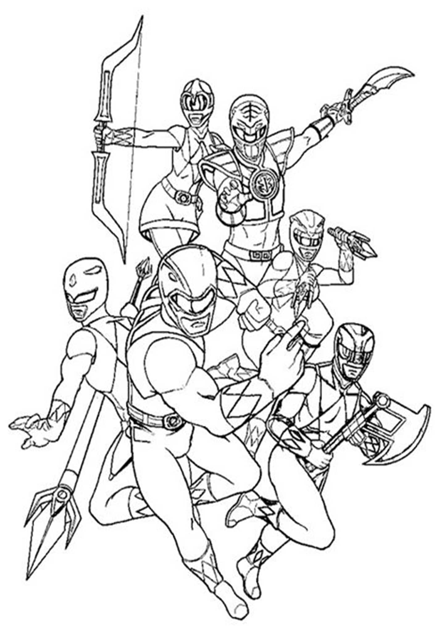 coloring power rangers free easy to print power rangers coloring pages tulamama rangers coloring power