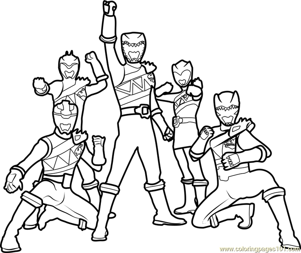 coloring power rangers get this power ranger dino force coloring pages for kids power coloring rangers