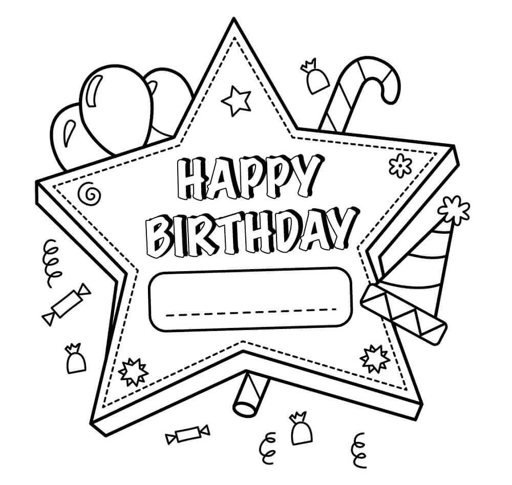 coloring printable birthday cards free free happy birthday coloring page and hershey coloring free birthday printable cards