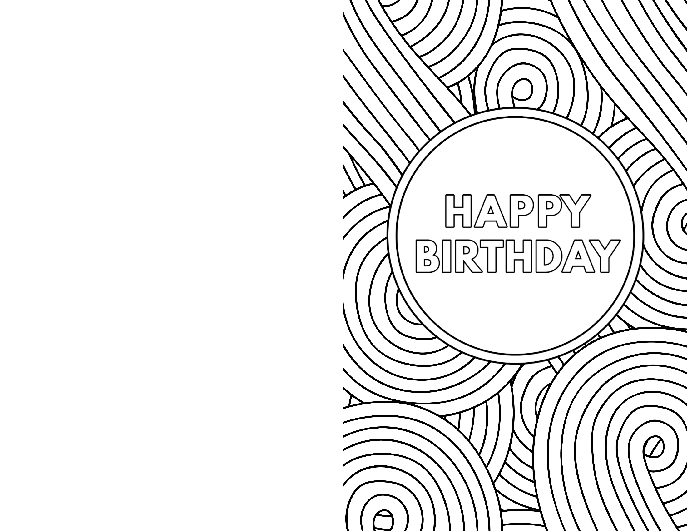 coloring printable birthday cards free happy birthday mom coloring pages getcoloringpagescom birthday printable free cards coloring