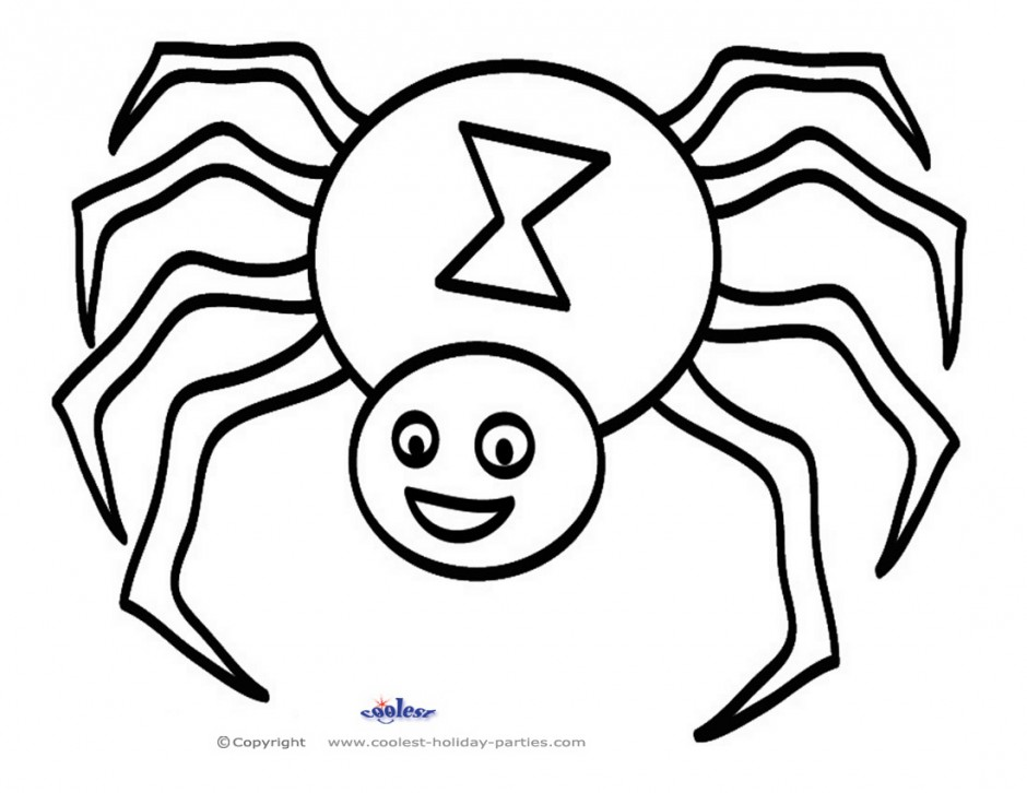 coloring printable spiders spider coloring pages printable get coloring pages spiders coloring printable