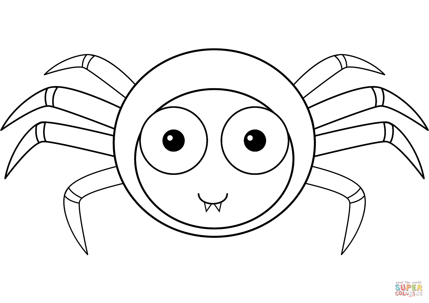 coloring printable spiders spider coloring pages to download and print for free spiders printable coloring