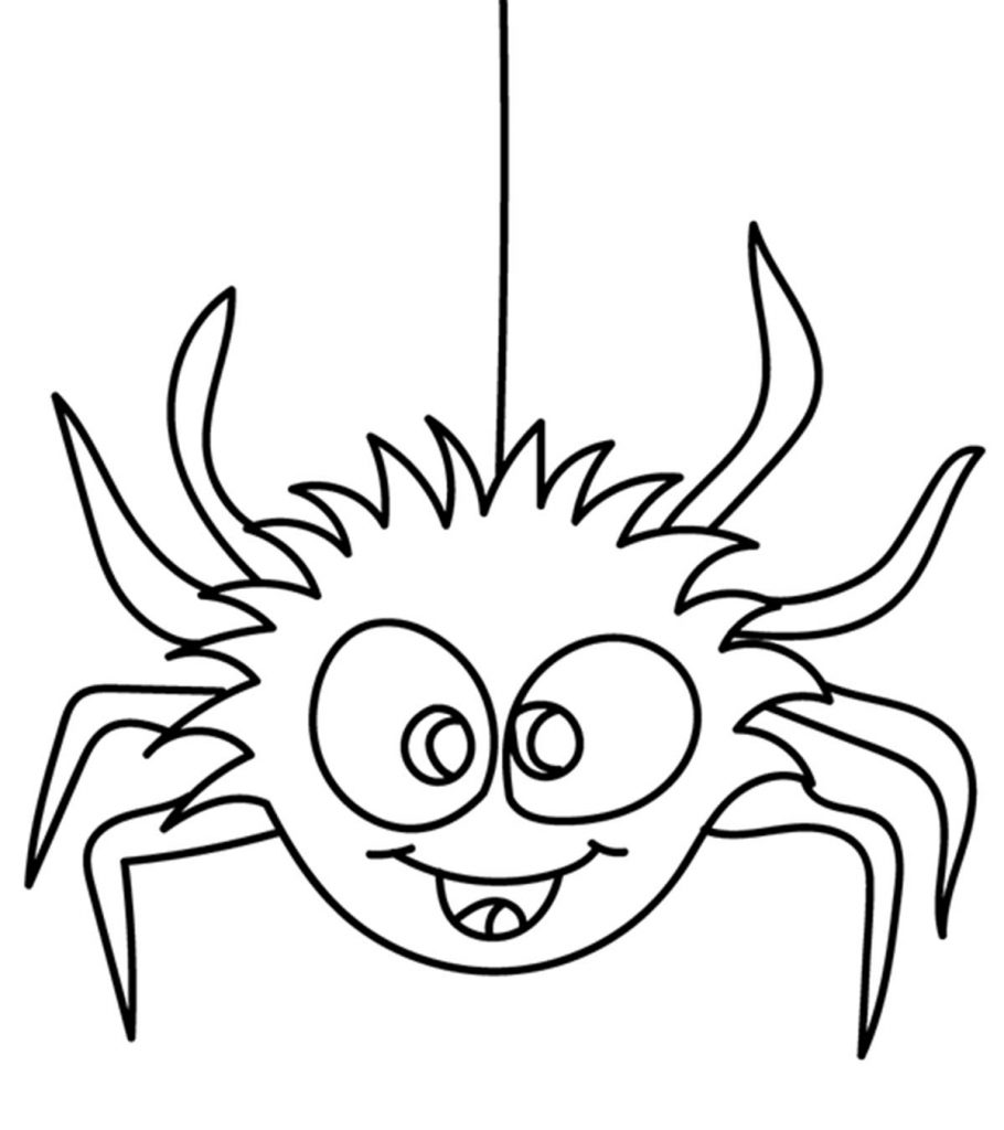 coloring printable spiders white tail spider coloring download white tail spider coloring printable spiders