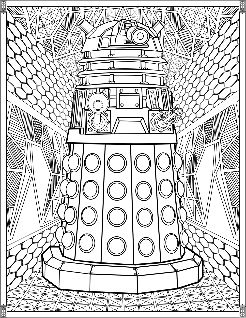 coloring printables doctor who wibbly wobbly timey wimey coloring pages printables coloring