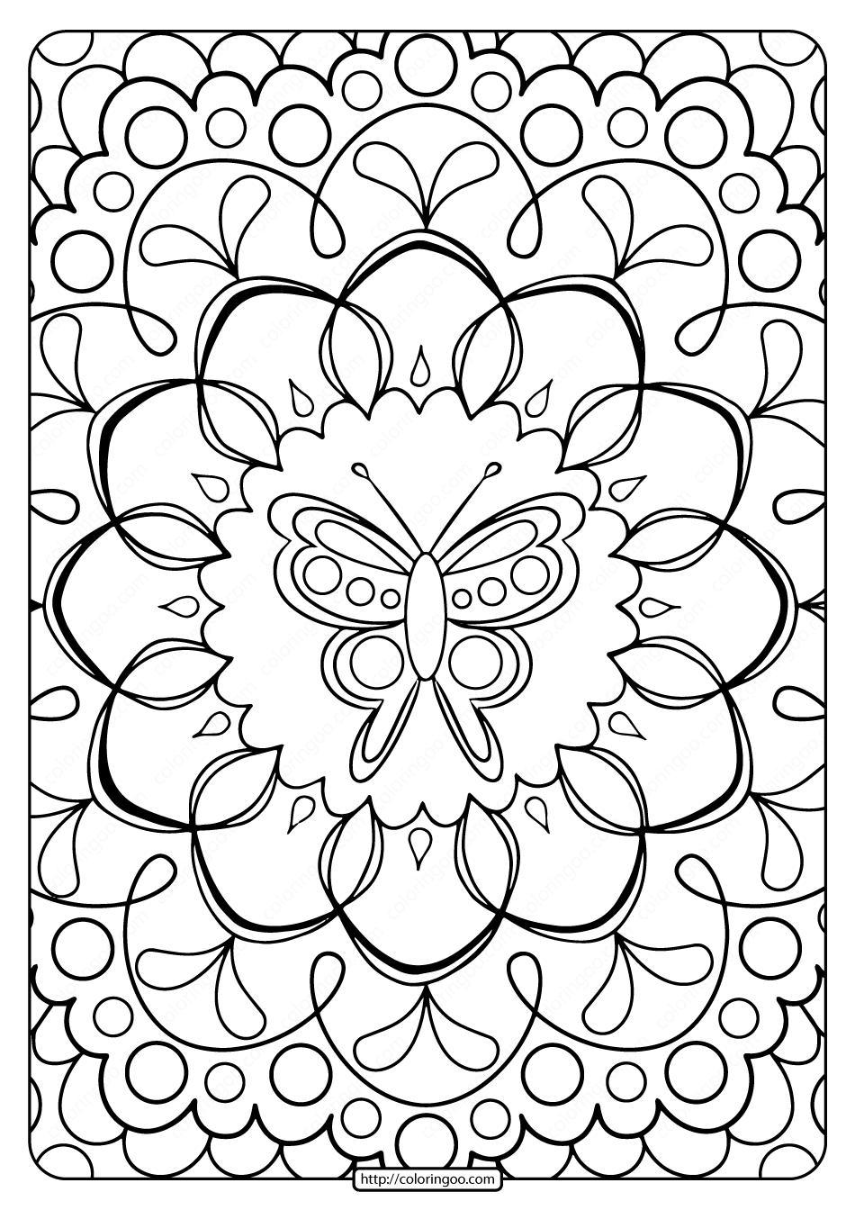 coloring printables free printable butterfly adult coloring pages printables coloring