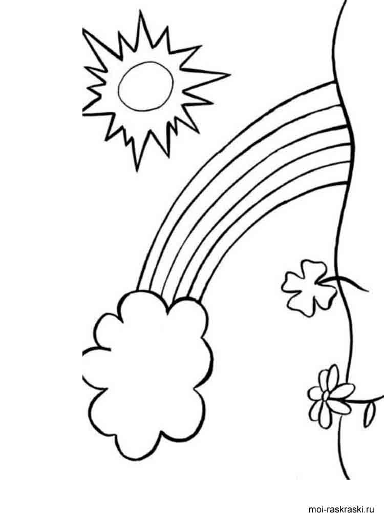 coloring rainbows free printable rainbow coloring pages for kids rainbows coloring 1 1