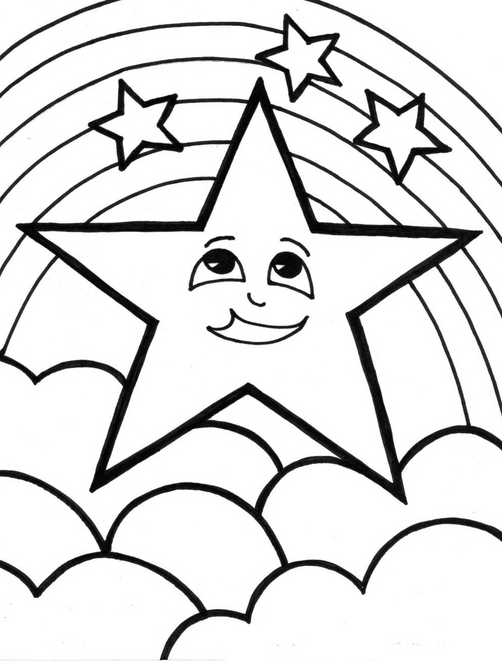 coloring rainbows free printable rainbow coloring pages what mommy does coloring rainbows