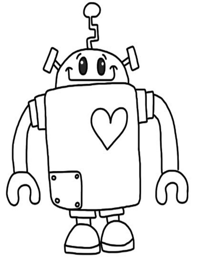coloring robot drawing fighting robot coloring pages at getdrawings free download drawing coloring robot