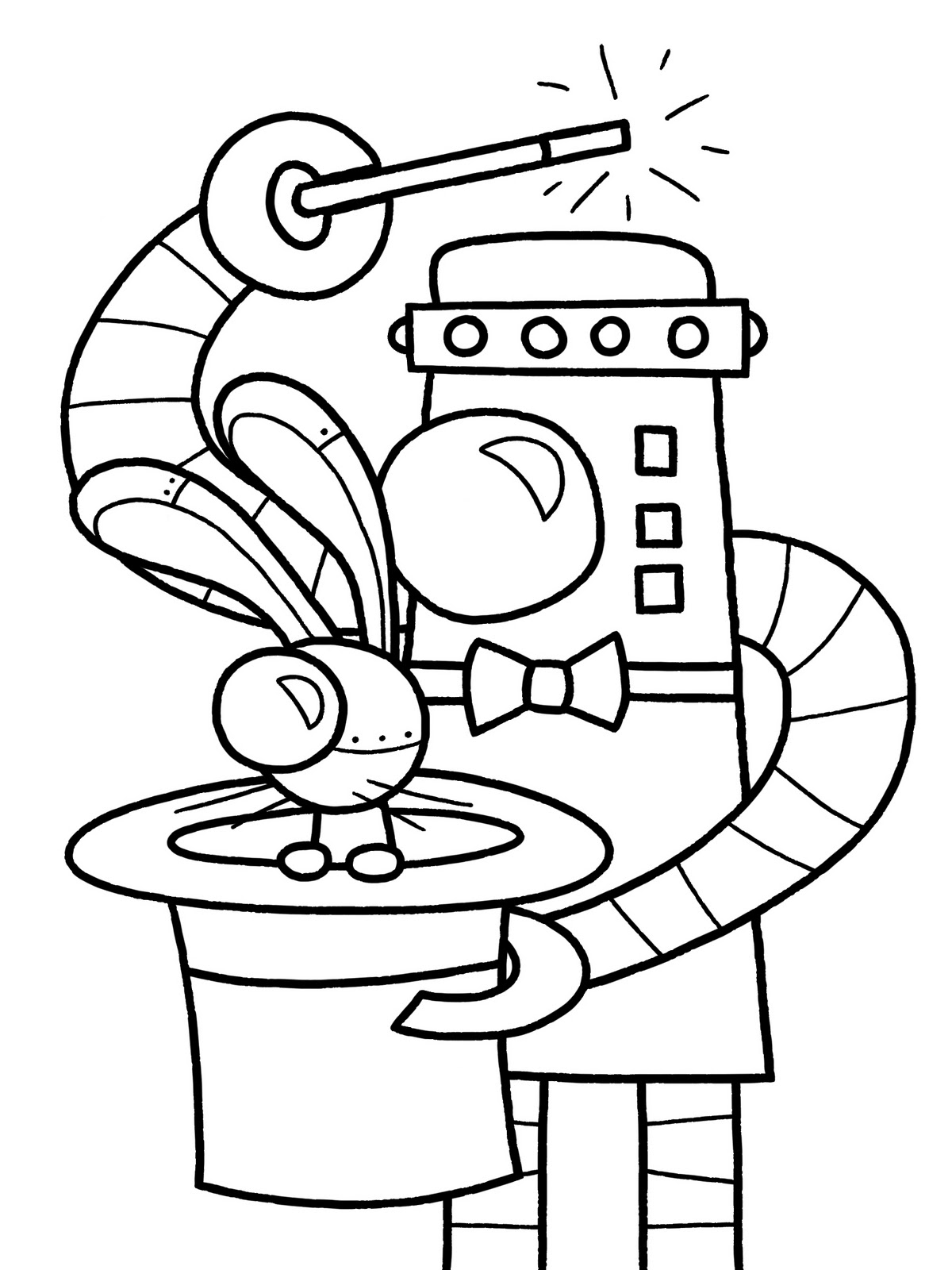 coloring robot drawing robot coloring pages beep beep robot coloring drawing