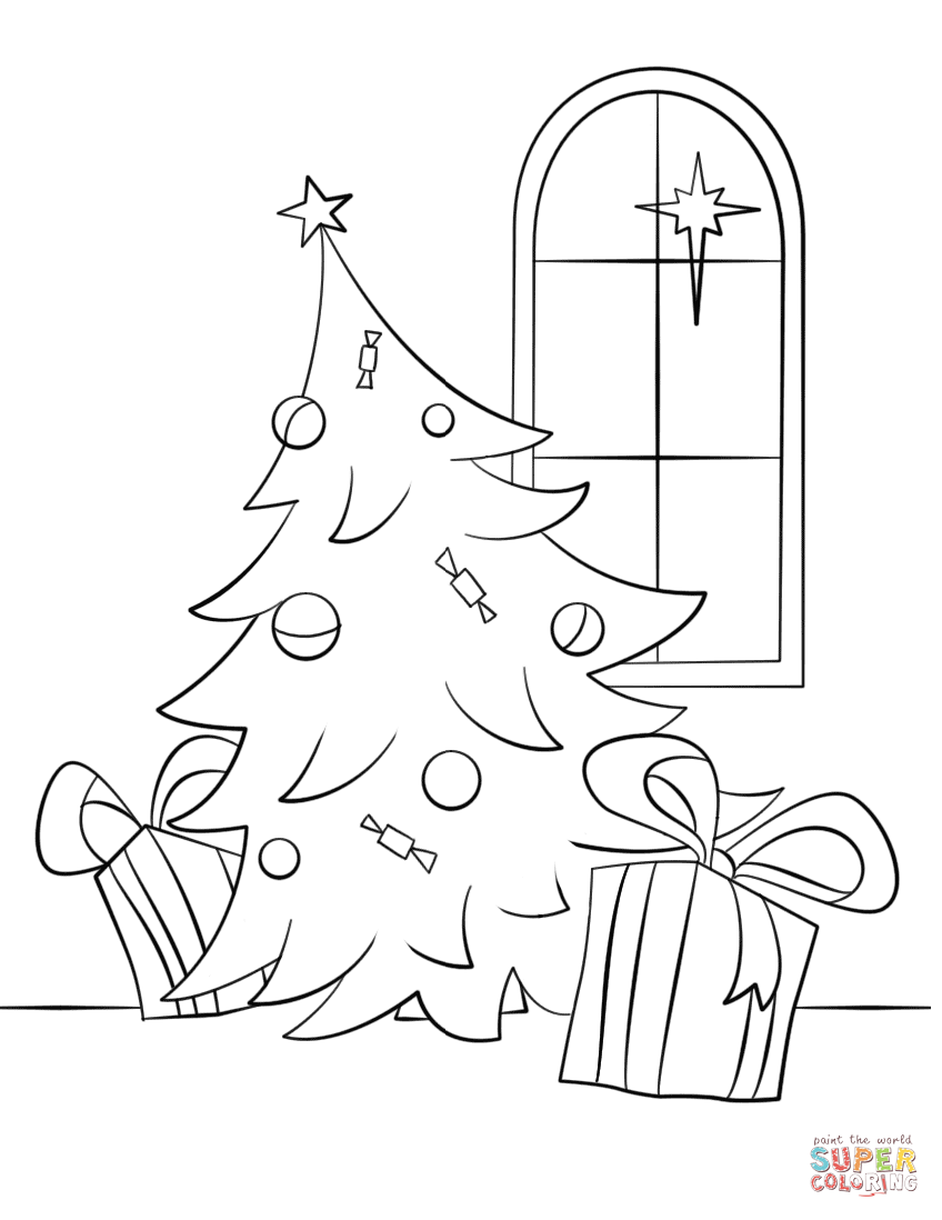 coloring scene christmas scene coloring page free printable coloring pages scene coloring