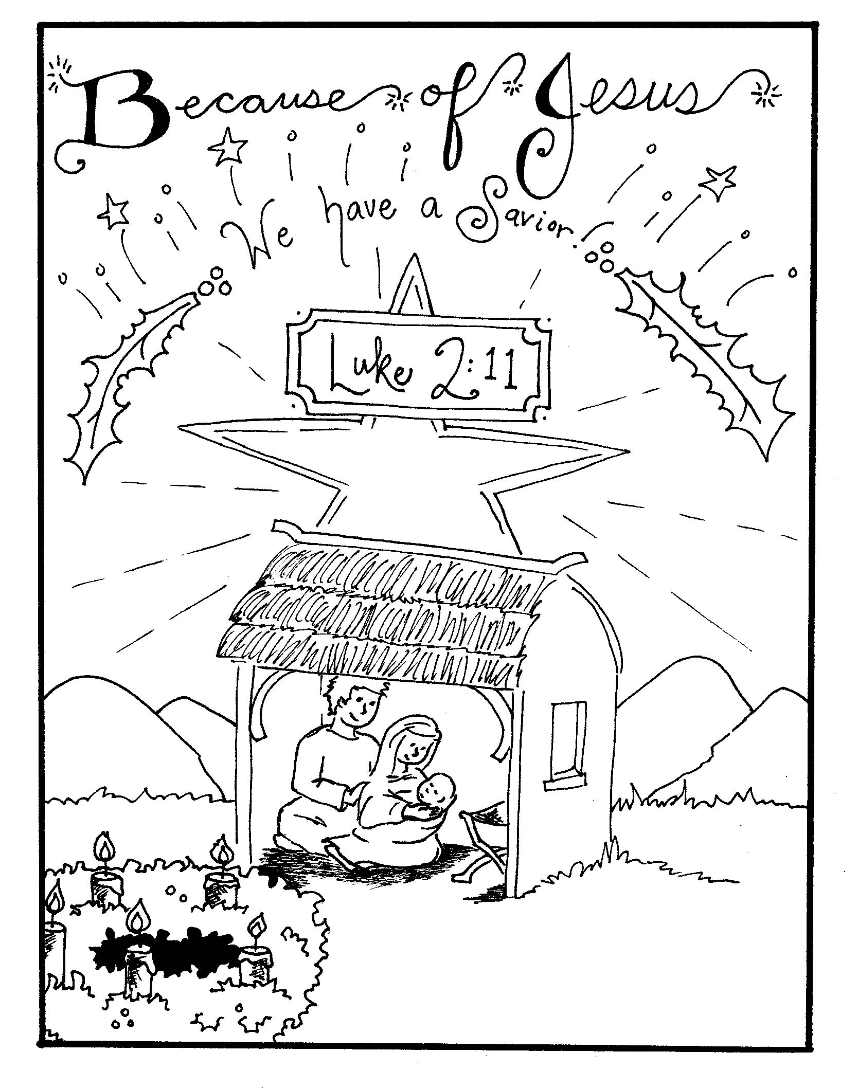 coloring scene free printable nativity coloring pages for kids best coloring scene