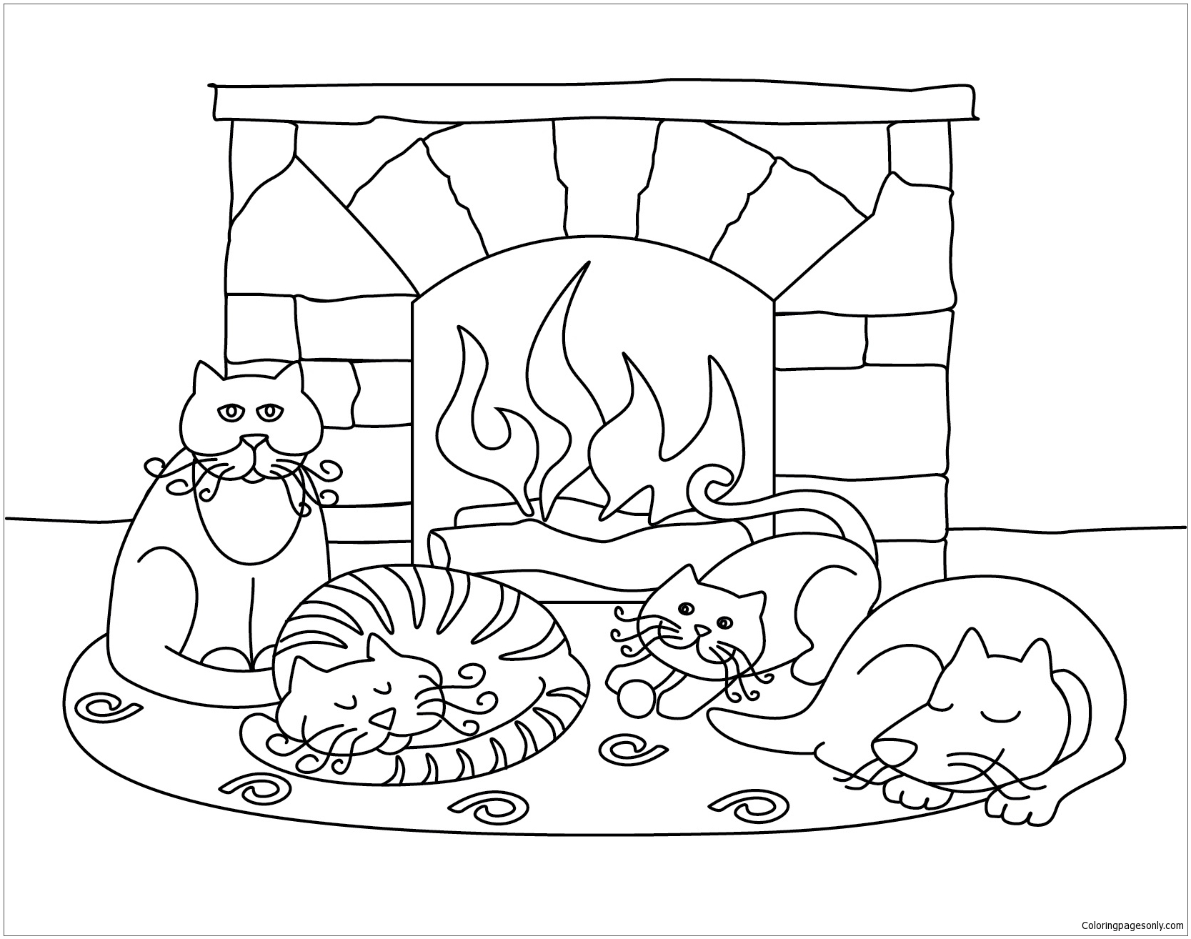 coloring scenes for kids classic christmas coloring pages kid39s christmas for kids coloring scenes