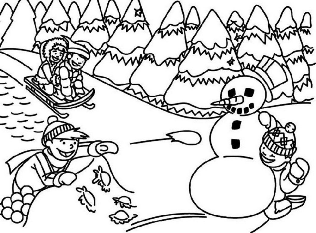 coloring scenes for kids coloring pages for coloring scenes kids