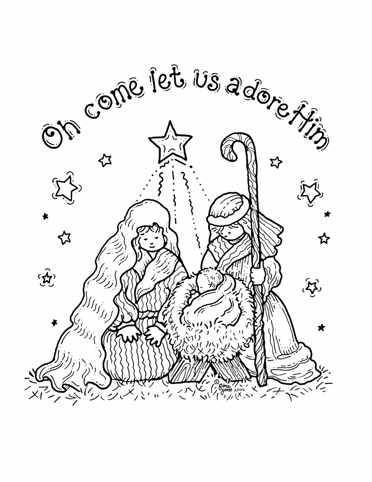 coloring scenes for kids free printable nativity coloring pages online for kids scenes coloring kids for