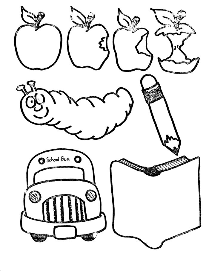 coloring school supplies school supplies coloring pages at getcoloringscom free coloring supplies school