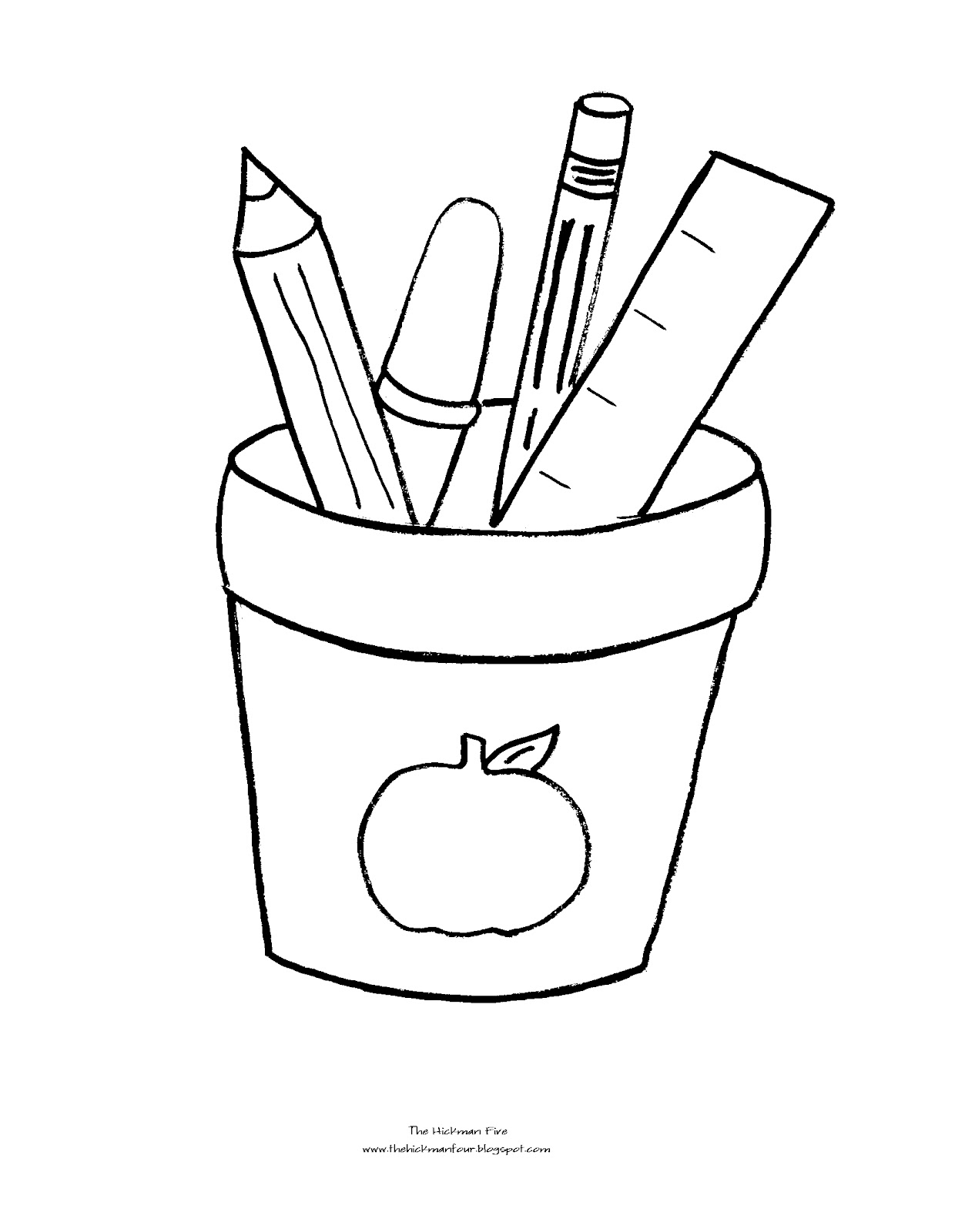 coloring school supplies school supplies coloring pages black and white free supplies school coloring