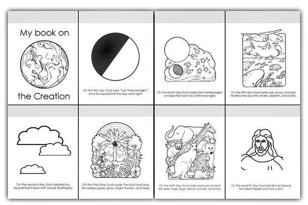 coloring sheet 6 days of creation drawing coloring pages sunday school coloring pages creation days drawing 6 coloring sheet creation of