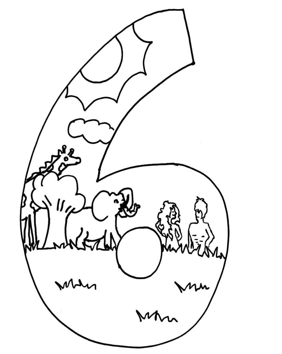 coloring sheet 6 days of creation drawing katieyunholmes creation coloring pages of drawing sheet coloring 6 creation days