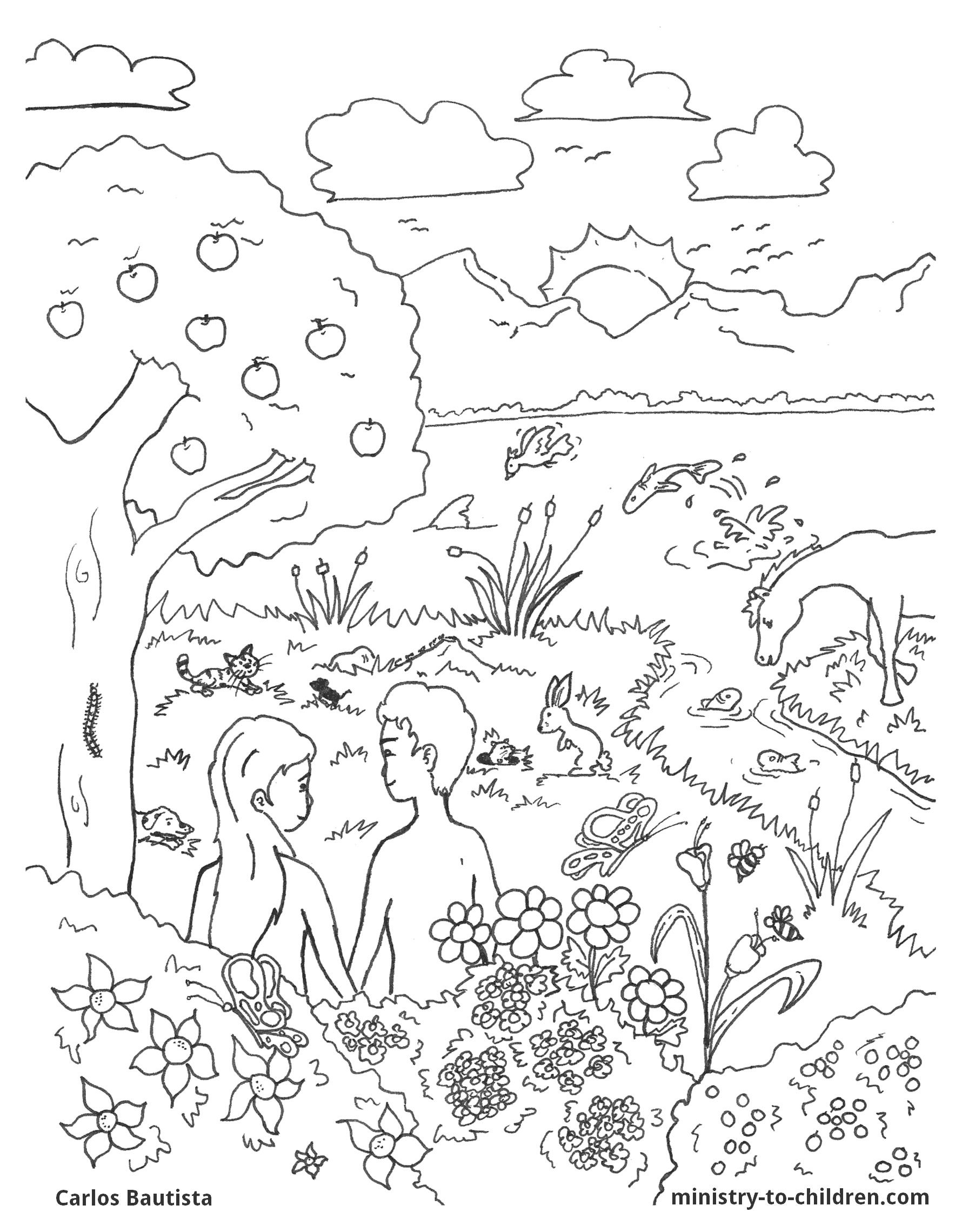 coloring sheet 6 days of creation drawing pin on story time craft dieas coloring creation days 6 sheet of drawing