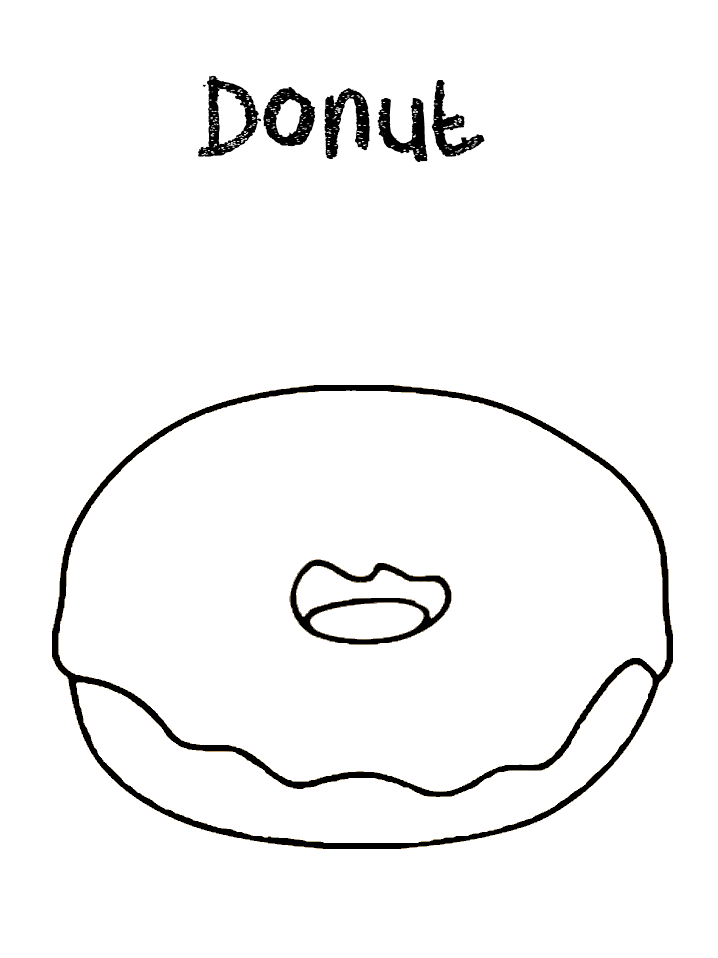 coloring sheet donut donut coloring pages coloring home donut coloring sheet