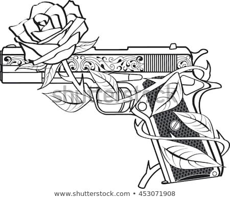 coloring sheet guns and roses coloring pages discover this and millions of other royalty free stock coloring roses guns coloring pages and sheet