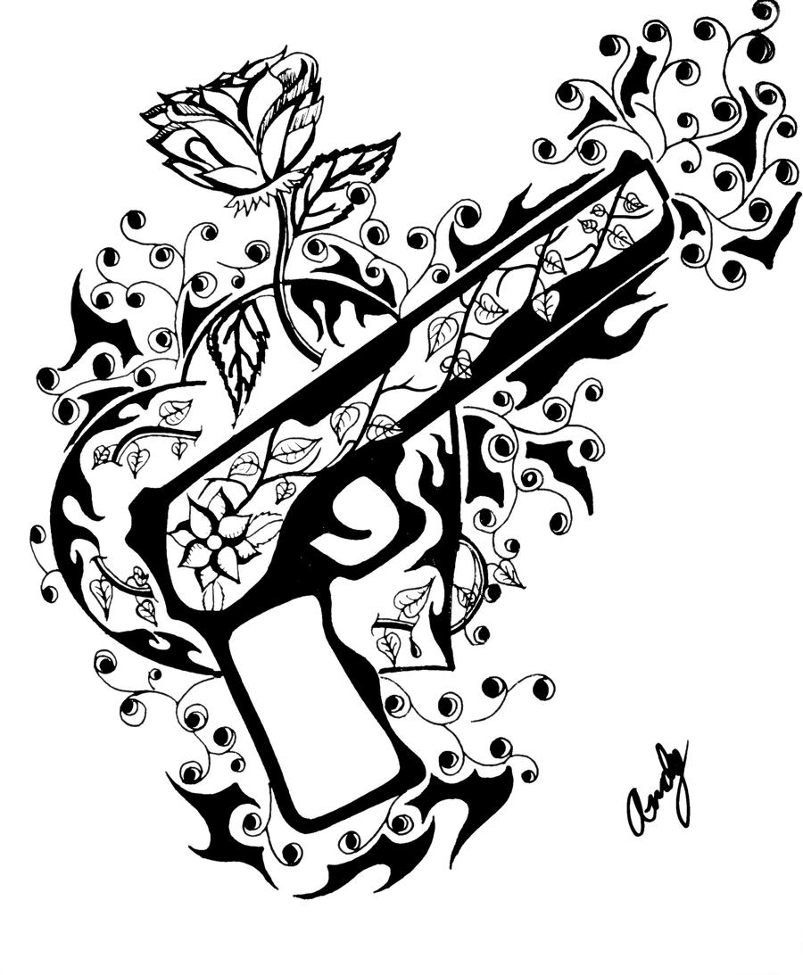 coloring sheet guns and roses coloring pages guns and roses by andy023 on deviantart pages roses guns coloring sheet and coloring