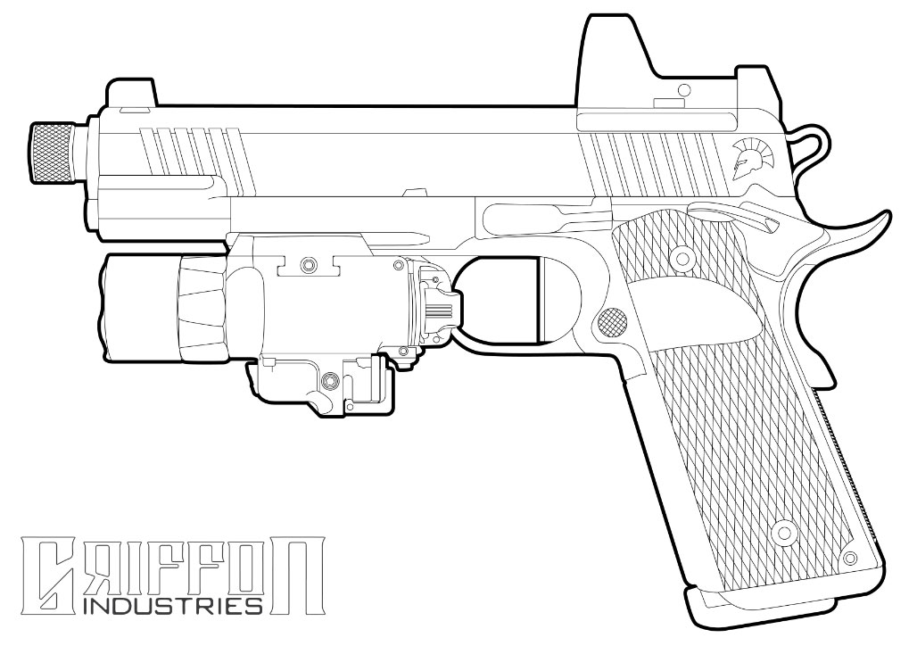 coloring sheet guns and roses coloring pages kitfox design group39s firearm coloring book armory blog guns roses coloring sheet and pages coloring