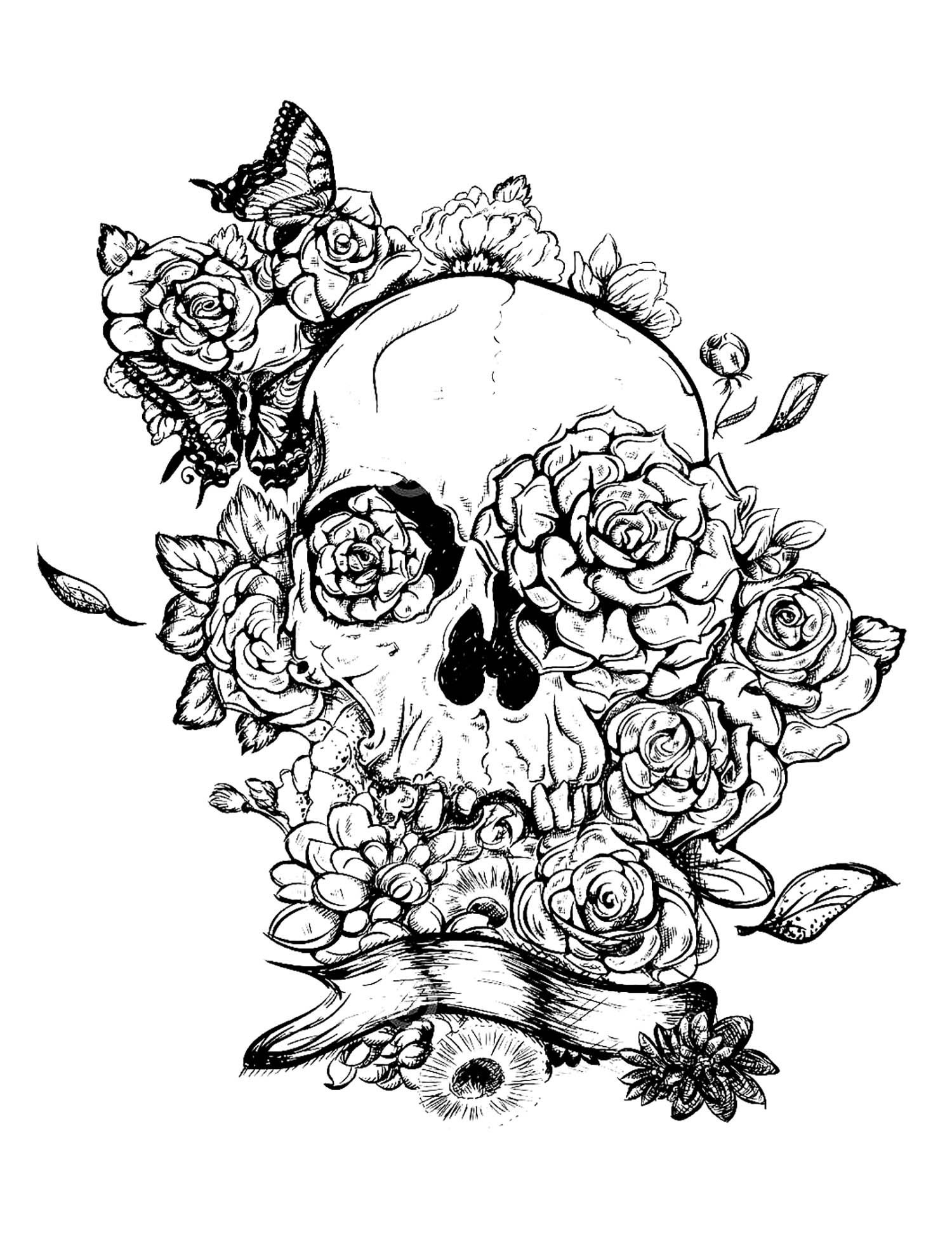 coloring sheet guns and roses coloring pages skull and roses coloring pages at getcoloringscom free and coloring pages coloring guns sheet roses