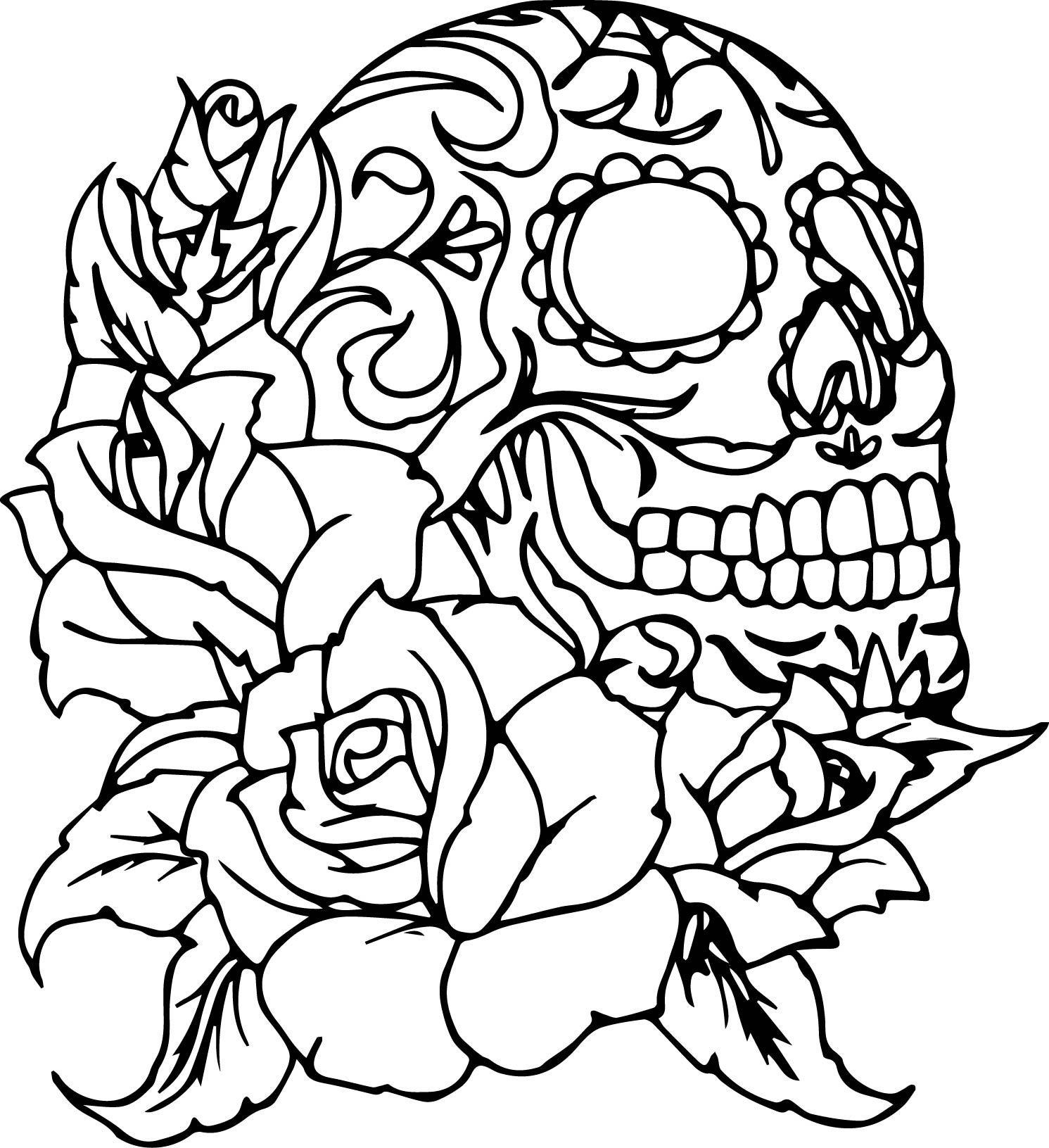 coloring sheet guns and roses coloring pages skull and roses coloring pages at getdrawings free download coloring roses guns and sheet coloring pages