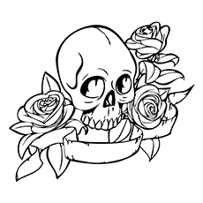 coloring sheet guns and roses coloring pages skull and roses tattoo tattoos adult coloring pages coloring coloring roses sheet and pages guns