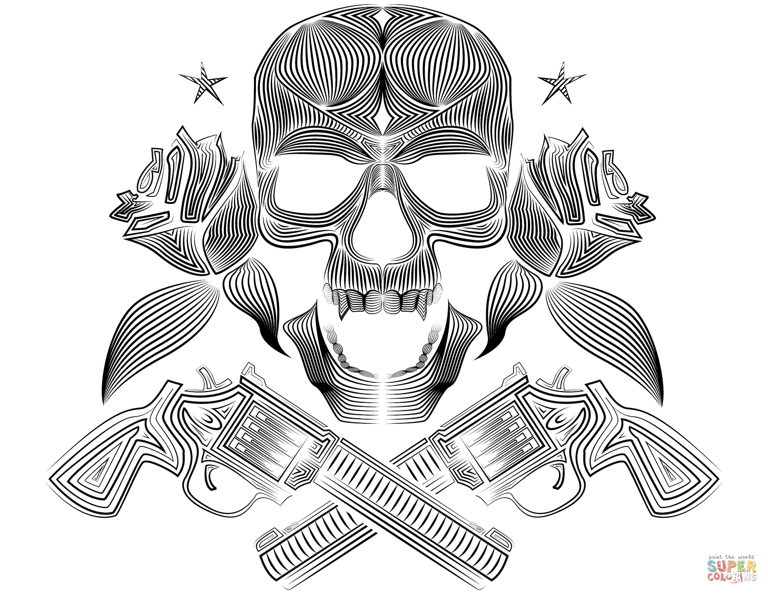 coloring sheet guns and roses coloring pages skull roses and guns coloring page free printable sheet coloring and pages coloring guns roses