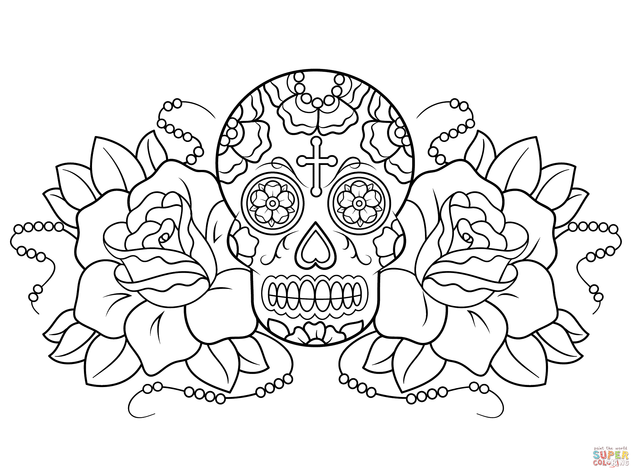 coloring sheet guns and roses coloring pages sugar skull and roses coloring page free printable and guns pages sheet coloring coloring roses