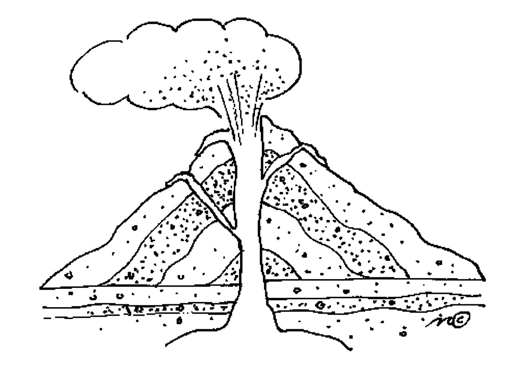 coloring sheet volcano 1000 images about coloring on pinterest coloring pages volcano sheet coloring