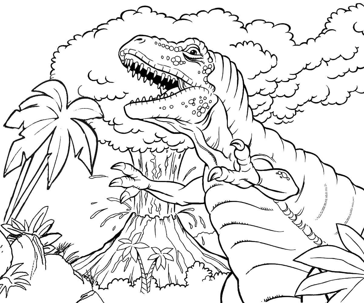 coloring sheet volcano free printable volcano coloring pages for kids sheet volcano coloring